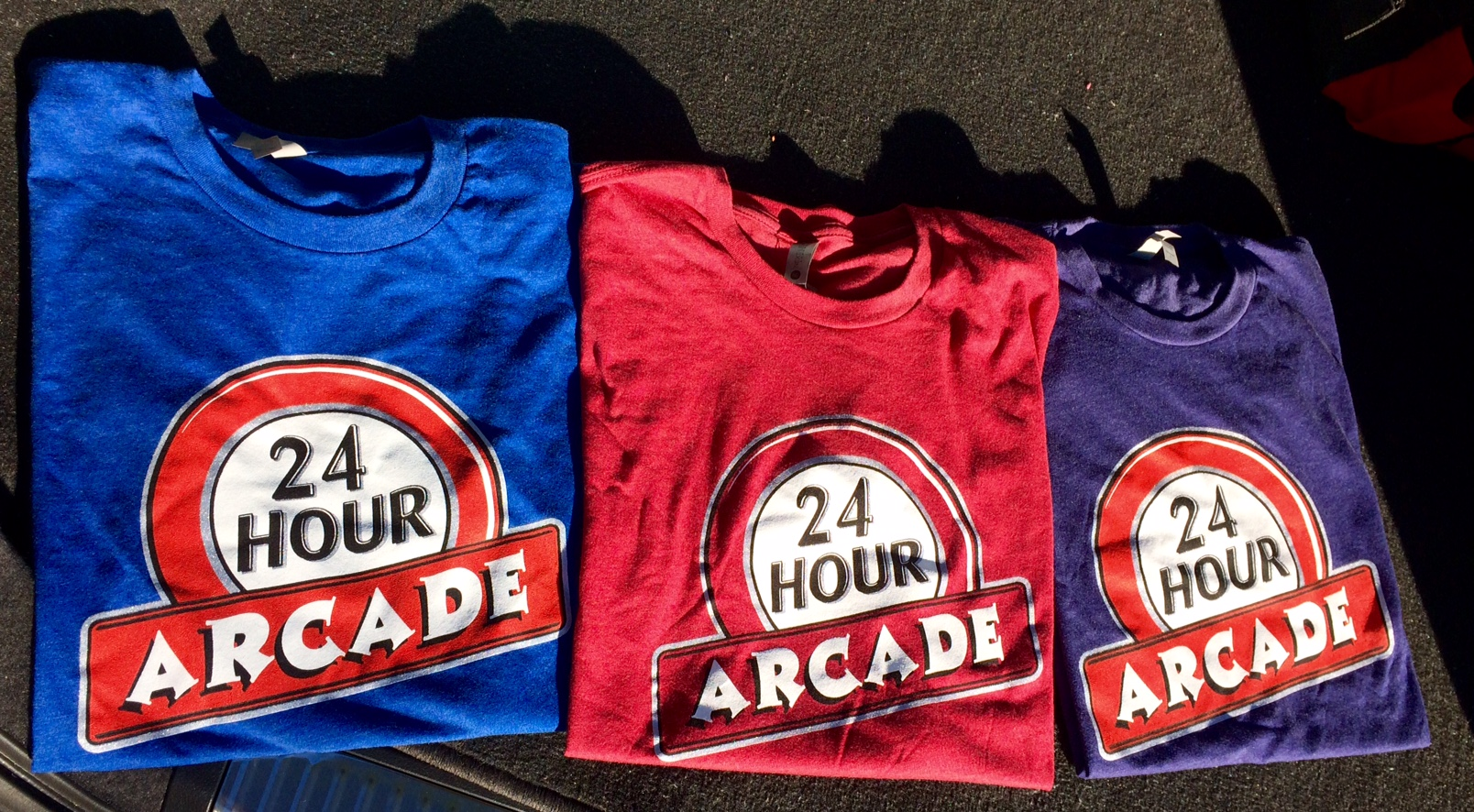 24 Hour Arcade T-Shirts